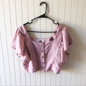 Care Vintage Pink Summer Top